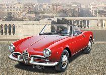 Italeri Alfa Romeo Giuletta Spider 1600 makett