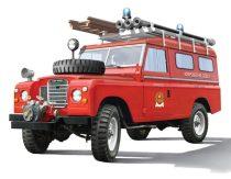 Italeri LAND ROVER FIRE TRUCK makett
