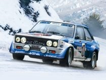 Italeri FIAT 131 Abarth Rally makett