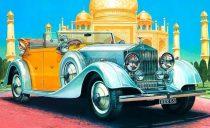 Italeri Rolls Royce Phantom II makett