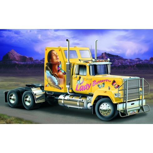 Italeri US Superliner Power Truck makett