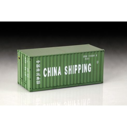 Italeri Shipping Container 20FT makett