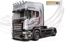 Italeri SCANIA R730 V8 STREAMLINE - SILVER GRIFFIN makett