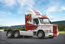 Italeri Scania T143H 6x2 makett