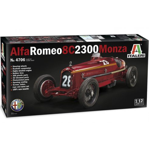 Italeri ALFA ROMEO 8C 2300 Monza makett