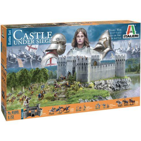 Italeri CASTLE UNDER SIEGE - 100 Years' War 1337/1453 - BATTLE SET