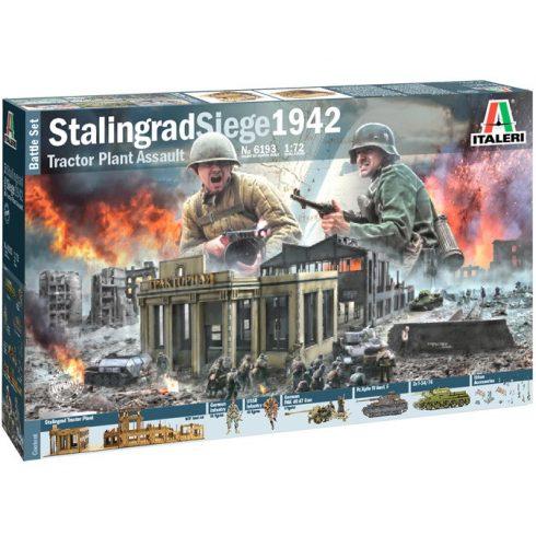 Italeri STALINGRAD SIEGE 1942 - BATTLE SET
