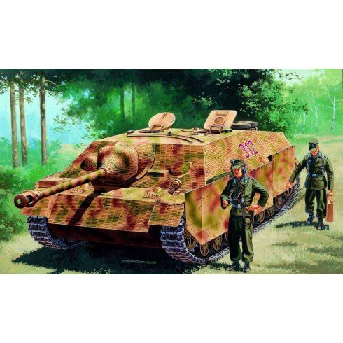 Italeri SD.KFZ.162 J.PZ IV Ausf.F L/48 late makett