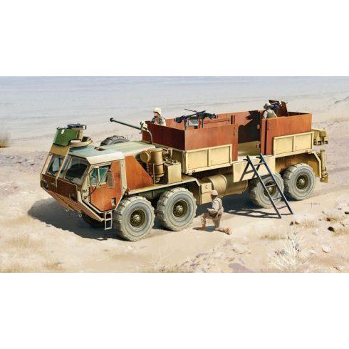 Italeri HEMTT Gun Truck makett