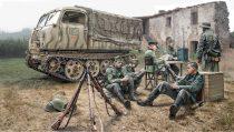 Italeri Steyr RSO/01 with German Soldiers makett