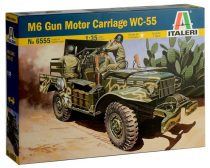 Italeri M6 GUN MOTOR CARRIAGE WC-55 makett