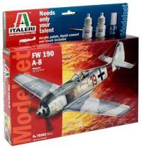 Italeri Model Set FW-190 A-8 makett