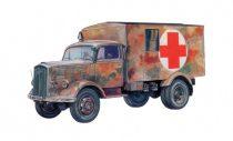 Italeri Sd.Kfz.305 Ambulance makett