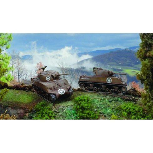 Italeri Sherman M4A3 75mm makett
