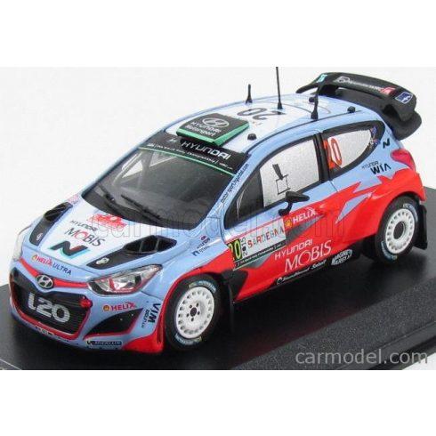 IXO HYUNDAI i20 WRC N 20 RALLY ITALIA SARDEGNA 2015 H.PADDON - J.KENNARD