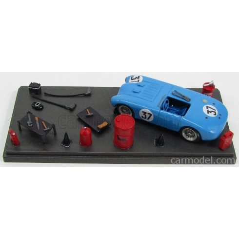 JOLLY MODEL SIMCA DIORAMA T 15S 1.5L SPIDER TEAM EQUIPE GORDINI N 37 24h LE MANS 1951 P.VEYRON - G.MONNERET