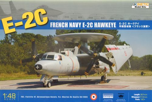 Kinetic E-2C French makett