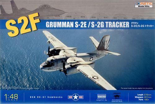 Kinetic S-2E/F Tracker makett