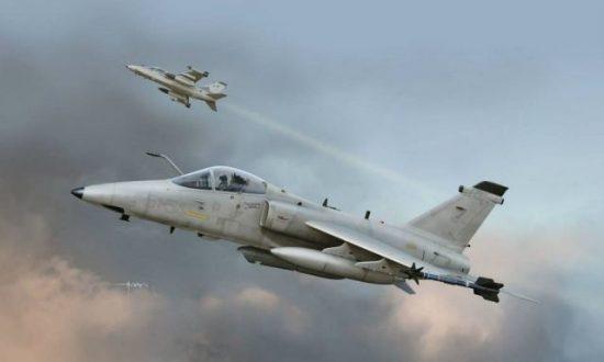 Kinetic AMX Single Seat Fighter makett