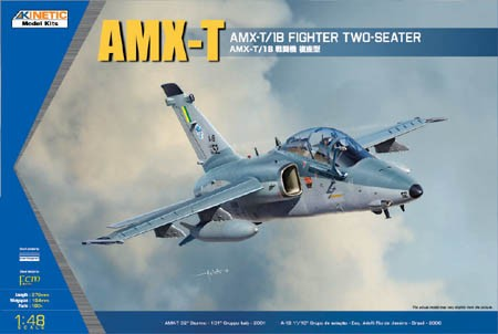 Kinetic AMX-T Double Seat Fighter makett