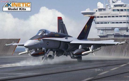 Kinetic F/A-18C Hornet makett