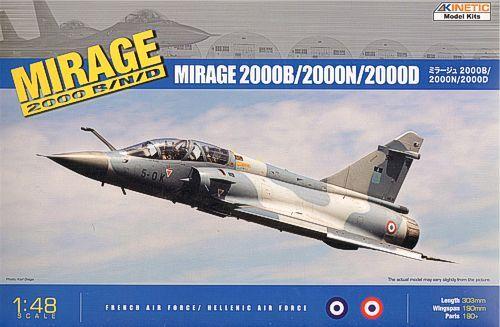Kinetic Mirage 2000 B/D/N makett