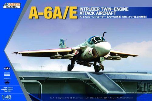 Kinetic A-6A/E Intruder Twin Engine Attack makett