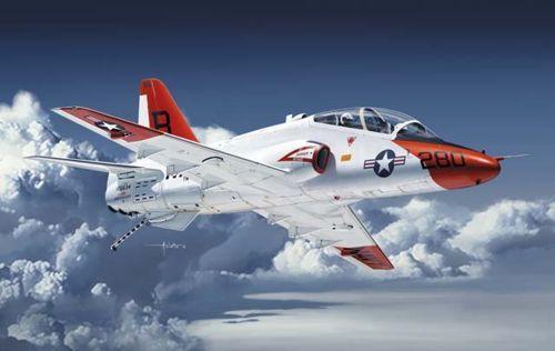 Kinetic T-45A/C Goshawk Navy Trainer Jet makett