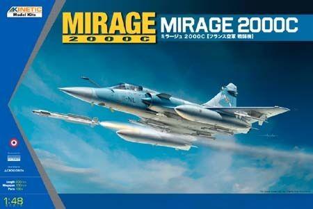 Kinetic Mirage 2000C Multi-role Combat Fighter makett