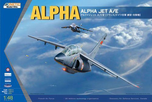 Kinetic Alpaha Jet A/E makett