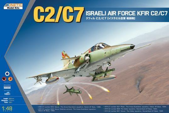 Kinetic KFIR C2/C7 Israeli Air Force makett