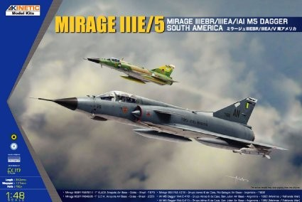 Kinetic South American Mirage IIIE/V makett