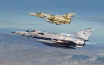 Kinetic F-21/KFIR C1 makett