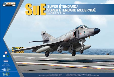 Kinetic Super Etendard makett