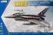 Kinetic Lockheed-Martin F-16C Block 52+ Polish Air Force makett