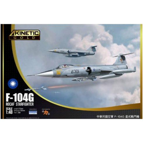 Kinetic F-104G ROCAF makett