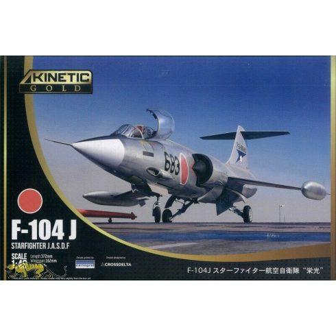 Kinetic Lockheed F-104J Starfighter JASDF makett