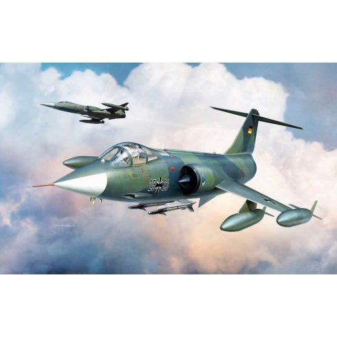 Kinetic F-104G Germany Air Force and Marine makett