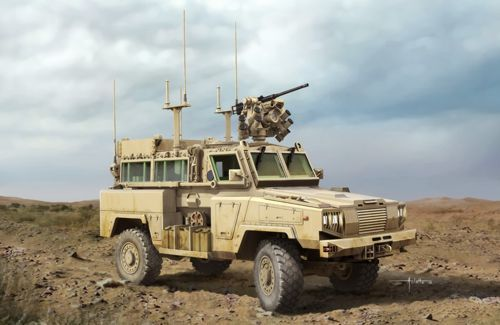 Kinetic RG-31 MK3 Canada Army W/Crows makett