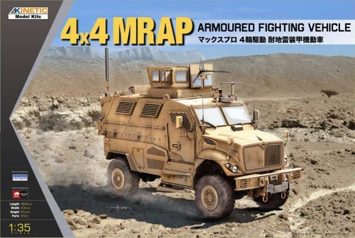Kinetic 4x4 MRAP Armored Fighting Vehicle makett