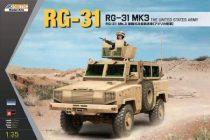 Kinetic RG-31 MK3 US Army makett