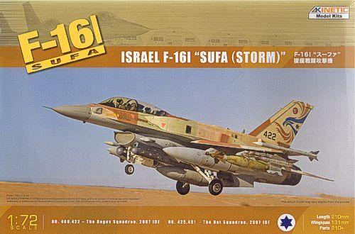 Kinetic F-16I Israel Air Force makett