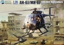 Kitty Hawk AH-6J/MH-6J Little Bird Nightstalker makett