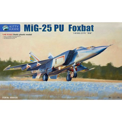 Kitty Hawk Mikoyan MiG-25PU Foxbat makett