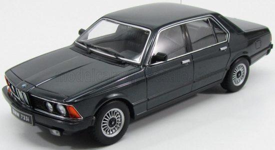 KK-SCALE BMW 733i (E23) 4-DOOR 1977 Black Metallic