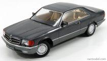 KK-SCALE MERCEDES 560SEC COUPE C126 1980 - DARK GREY