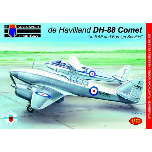 KP Model De Havilland DH-88 Comet in RAF & Foreign Service makett