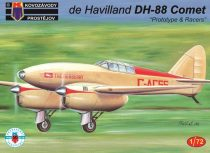 "KP Model de Havilland DH-88 Comet ""Prototype & Racers"" makett"
