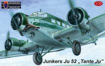 "KP Model Junkers Ju-52/3m ""Tante Ju"" Luftwaffe, Hungary, Slovakia makett"