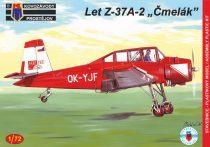 """KP Model Let Z-37A-2 Cmelak """"Two-seater"""" (Czech) makett"""